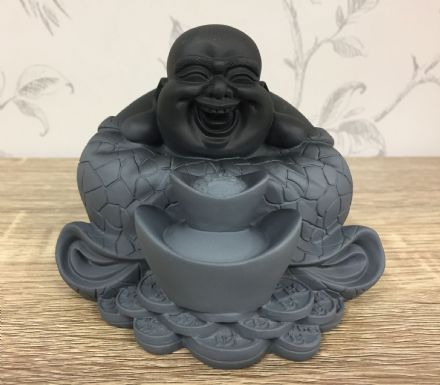 Laughing Buddha Solid Resin Decorative Ornament